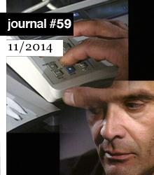 Cover art for e-flux Journal #59