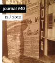 e-flux Journal #40