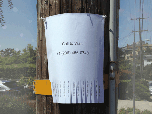 Cover art for Call to Wait