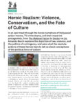 Urbanomic Document 019: Heroic Realism: Violence, Conservatism, and the Fate of Culture