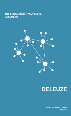 Cover art for Deleuze