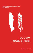 The Funambulist Pamphlets: Volume 05_Occupy Wall Street