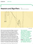 Neurons and Signifiers
