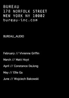 Cover art for Bureau Audio