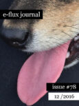 e-flux Journal #78