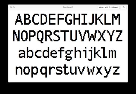Cover art for Fontlab Font