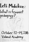 Let's Mobilize: What is Feminist Pedagogy?