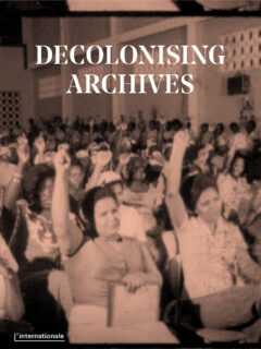Cover art for Decolonising Archives