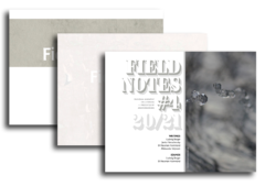 Cover art for Field Notes