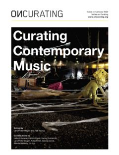 Cover art for Curating Contemporary Music
