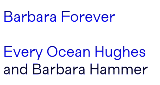 Cover art for Barbara Forever