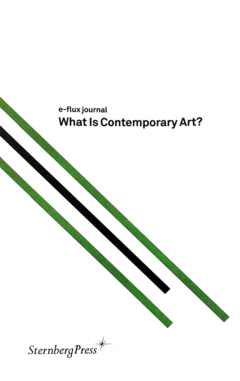 Cover art for What is Contemporary Art?