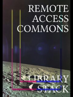 Cover art for Remote Access Commons