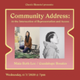 Community Address: At the Intersection of Representation and Access