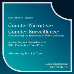Cover art for Counter-Narrative/Counter-Surveillance: Documenting the Repression of Public Assembly