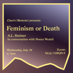 Cover art for Feminism or Death