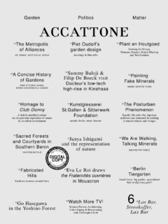 Cover art for Accattone 6