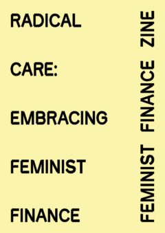 Cover art for Radical Care: Embracing Feminist Finance