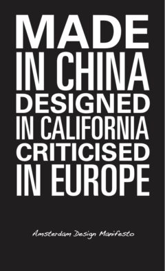 Cover art for Made In China, Designed in California, Criticised in Europe
