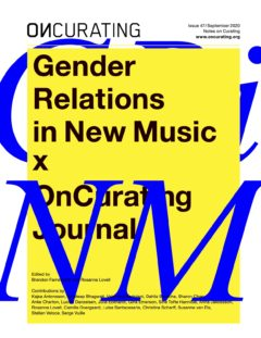 Cover art for Gender Relations in New Music