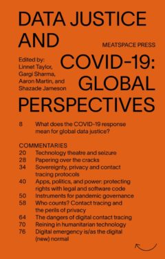 Cover art for Data Justice and COVID-19: Global Perspectives