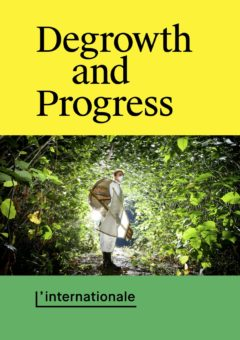 Cover art for Degrowth and Progress