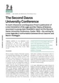 Urbanomic Document 041: The Second Davos University Conference