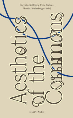 Cover art for Aesthetics of the Commons