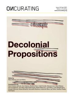Cover art for Decolonial Propositions