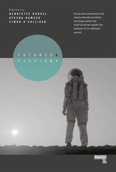 Cover art for Futures and Fictions