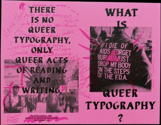 Cover art for WHAT IS QUEER TYPOGRAPHY?