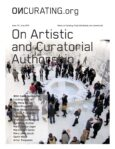On Artistic and Curatorial Authorship