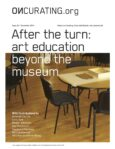 After the turn: art education beyond the museum